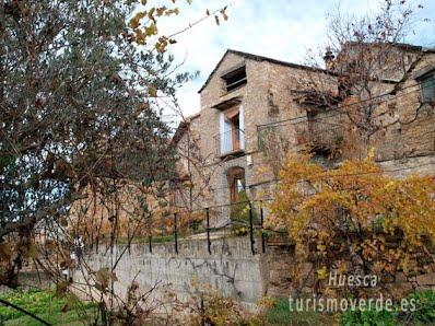 TURISMO VERDE HUESCA. Casa Oncins de Banastón